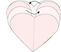 киригами сердечки украшение на день святого Валентина 1 (4)