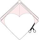 киригами сердечки украшение на день святого Валентина 1 (5)