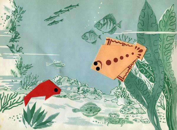 Оригами рыбка Схемы