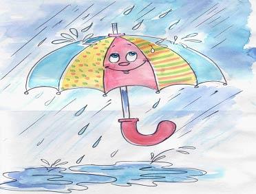 Стихи про дождик для детей 1