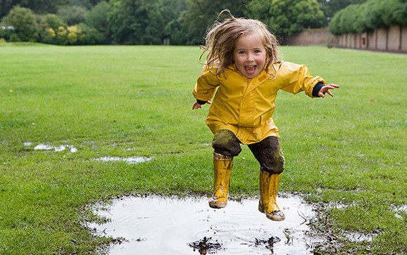 Стихи про тучку и дождик для детей