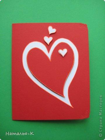 Открытки сердечки своими руками (16)