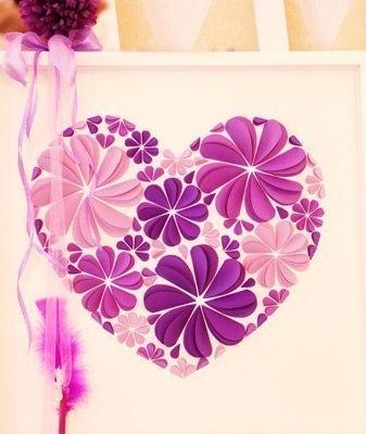 Открытка сердечко из бумаги своими руками
