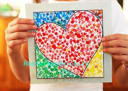 Открытки сердечки своими руками (5)