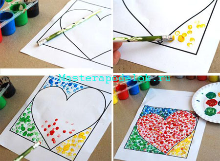 Открытки сердечки своими руками (7)