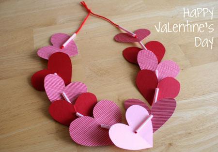 гирлянды на день святого Валентина 0