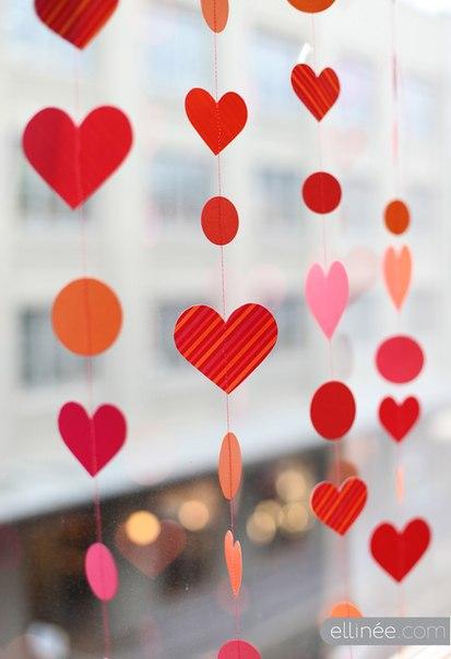 гирлянды на день святого Валентина (3)