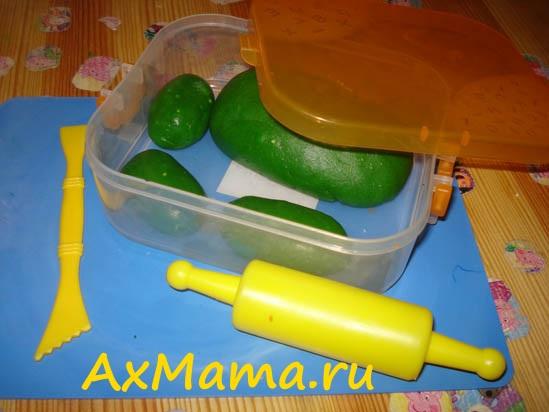 Как сделать пластилин PLAY DOH своими руками_45