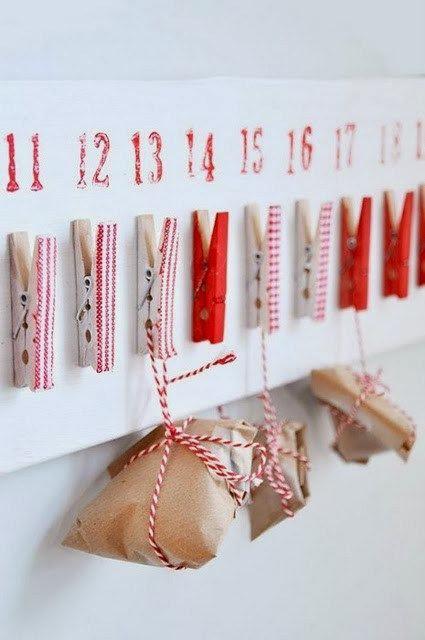 рождественский календарь своими руками для детей 3
